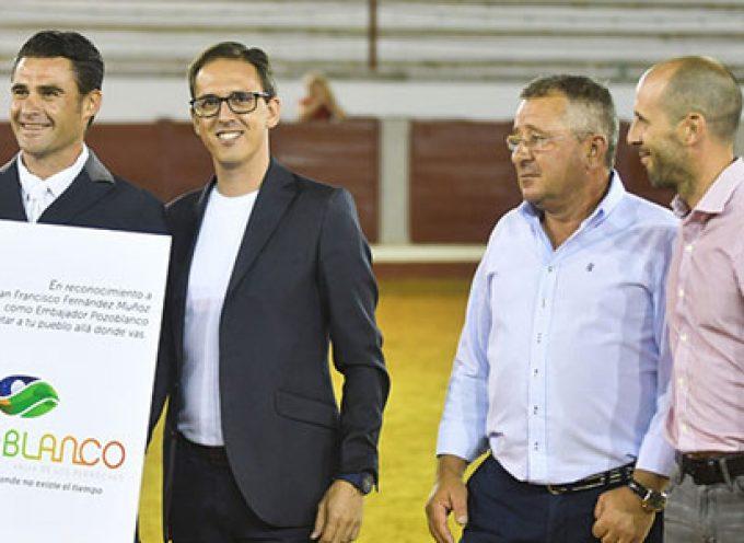 El jinete Juan Francisco Fernández Muñoz, nuevo Embajador Pozoblanco