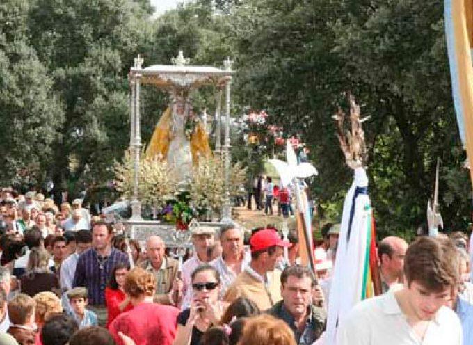 Villanueva de Córdoba comienza con sus actos de Despedida de la Virgen de Luna