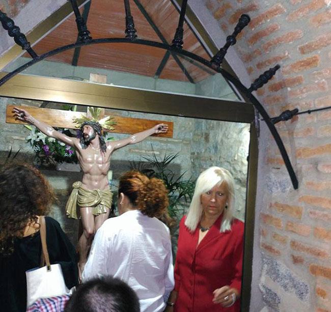 Velada Cristo de las Angustias en su ermita