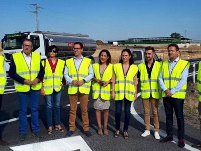 La Junta finaliza la mejora del firme de la A-3177, entre Pozoblanco y El Viso, tras una inversión de 830.000 euros