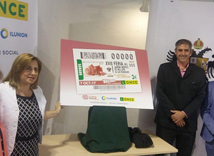 La ONCE divulgará La Feria del Jamón Ibérico de Bellota de Los Pedroches