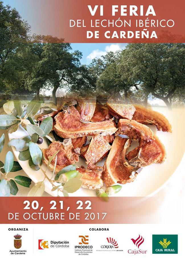 VI Feria del Lechón Ibérico de Cardeña