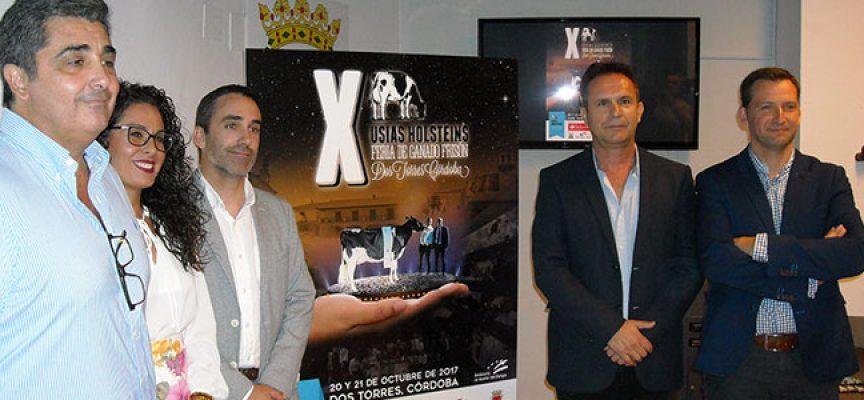 La X Feria de Ganado Frisón 'Usías Holsteins' celebra su décimo aniversario