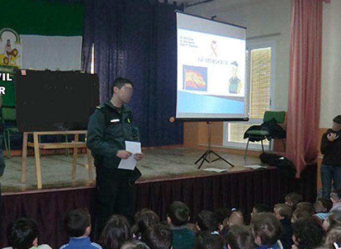 La Guardia Civil reiniciará el ciclo de charlas en los colegios de la provincia