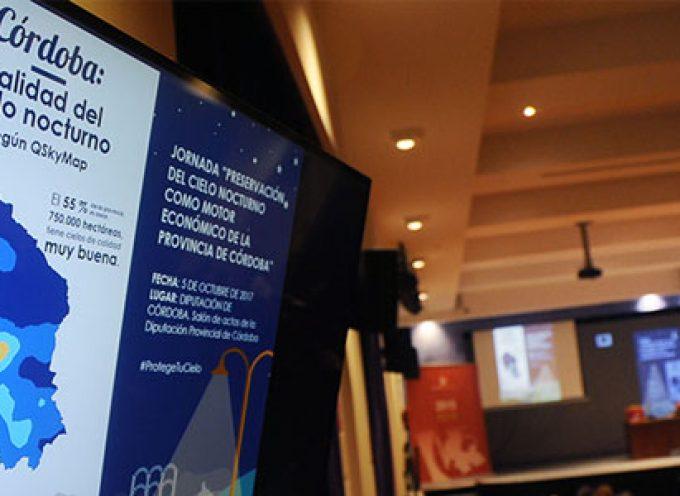Técnicos y empresarios discuten en la Diputación sobre la calidad del cielo de la provincia