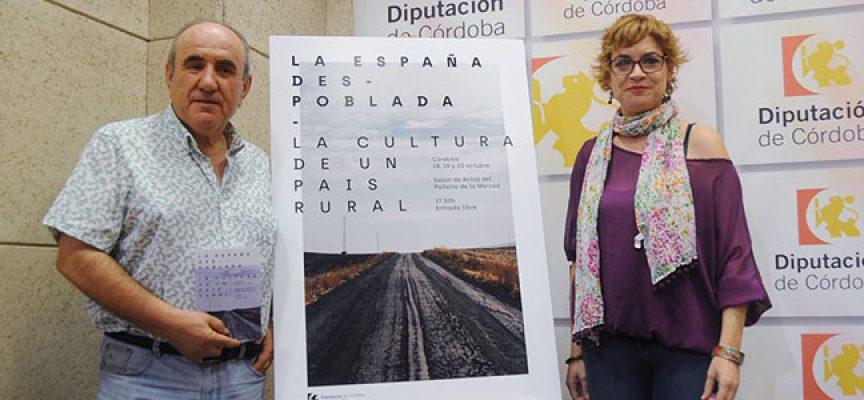 'La España Despoblada. La cultura en un país rural', jornadas coordinadas por Alejandro López Andrada
