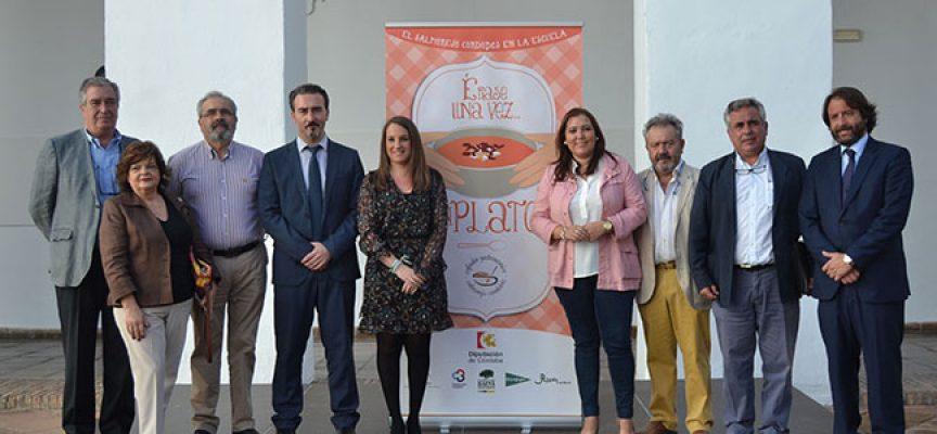Un taller acercará a los escolares de Villanueva del Duque el valor nutricional y cultural del salmorejo