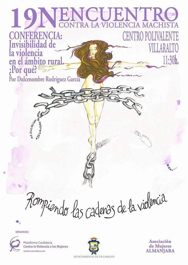 Un encuentro contra la violencia machista en Villaralto