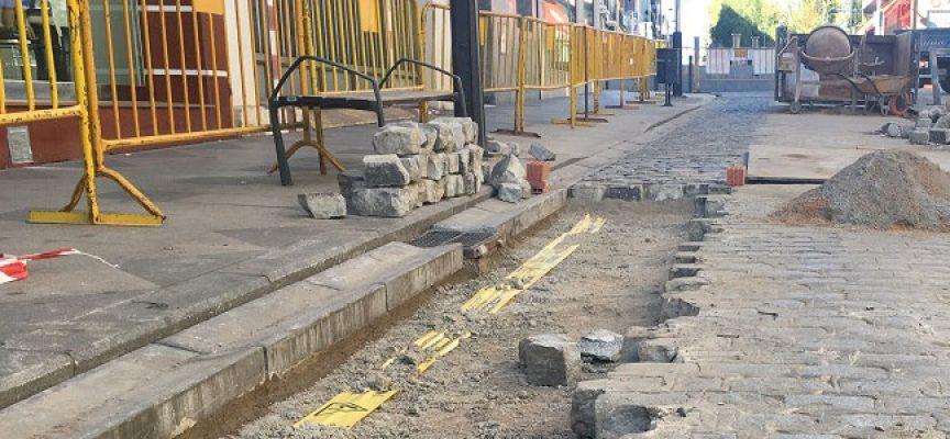 Se aplazan las obras de la calle Mayor de Pozoblanco para favorecer la campaña de Navidad