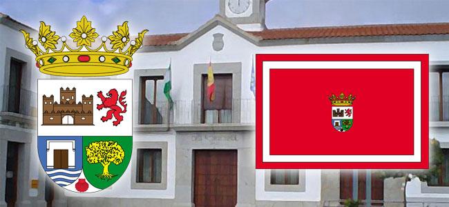 Bandera y escudo de Alcaracejos