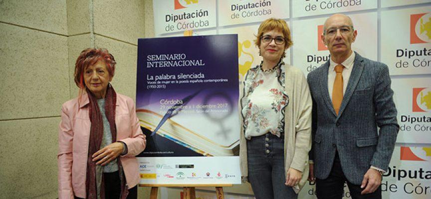 Juana Castro participará en el seminario 'La palabra silenciada'