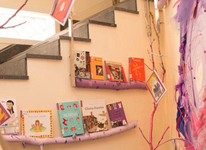 El 'Rincón Violeta', un espacio en la Biblioteca Municipal de Pozoblanco relacionado con la igualdad de género