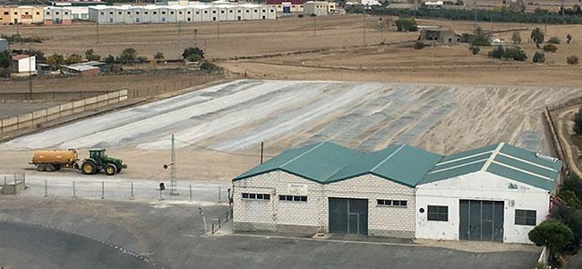 Avanzan las obras del nuevo campo de fútbol de Alcaracejos