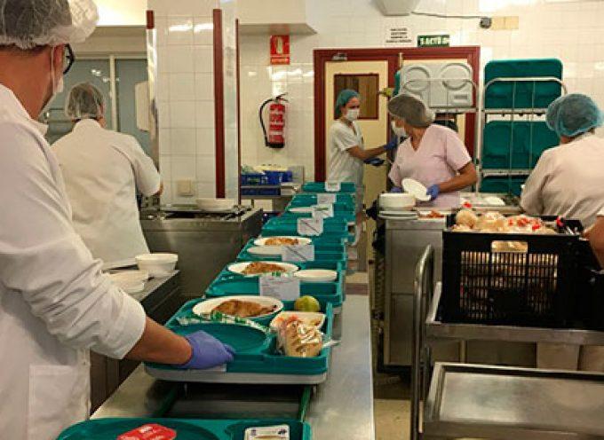 El Hospital Valle de los Pedroches celebra la festividad de Todos los Santos con un menú especial