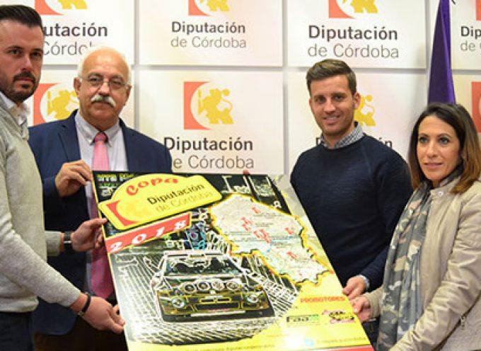 El Ciudad de Pozoblanco formará parte en 2018 de la Copa Diputación de Córdoba de Automovilismo