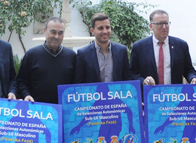 La 1ª fase del Campeonato de Fútbol Sala de Sub-16 Masculino se celebrará en Pozoblanco y El Viso