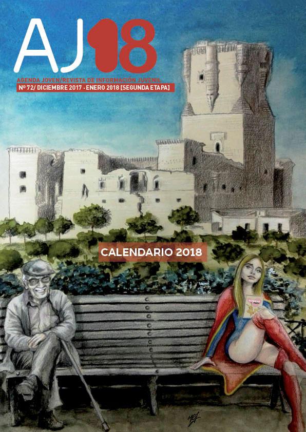 calendario 2018 de la Agenda Joven