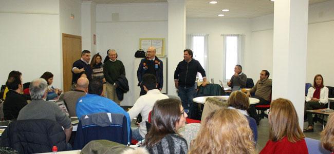 Manuel Carmona visita las nuevas instalaciones del centro Guadalinfo en Alcaracejos