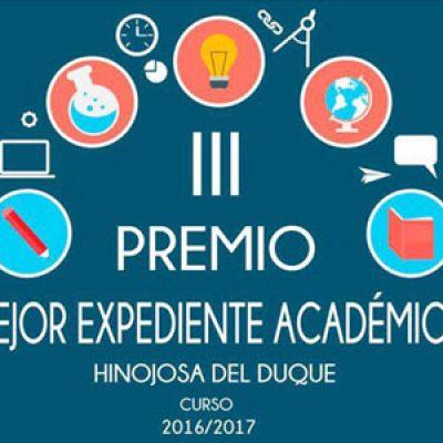 La Asociación Cívica Hinojoseña entregará el premio a la excelencia Académica en su III edición