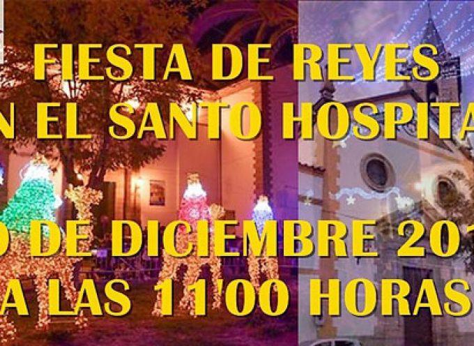 La Hermandad de Nuestro Padre Jesús Nazareno celebra la Fiesta de Reyes dedicada a los ancianos del Santo Hospital