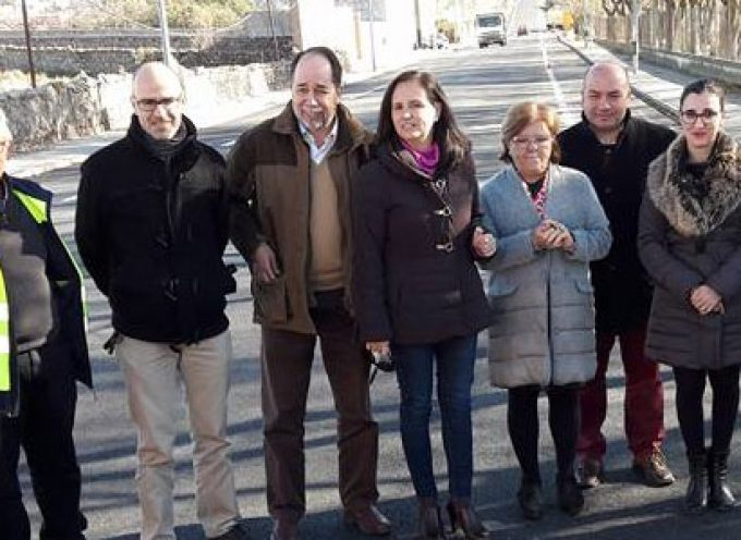 La Junta finaliza la mejora de la travesía de Villanueva de Córdoba tras una inversión de 60.000 euros