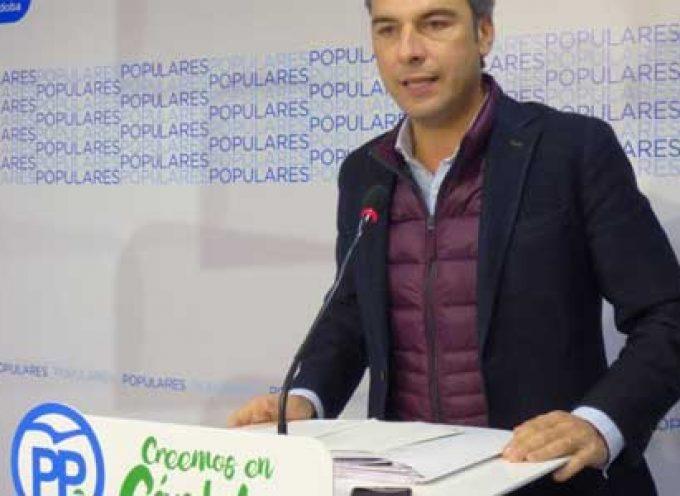 El PP critica que la Junta aún no haya ejecutado la red de abastecimiento desde La Colada