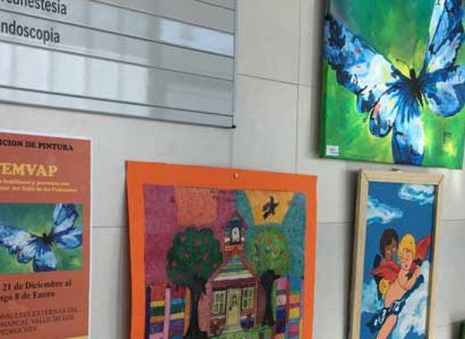 El Hospital Valle de los Pedroches alberga una exposición temporal de artes plásticas de AFEMVAP