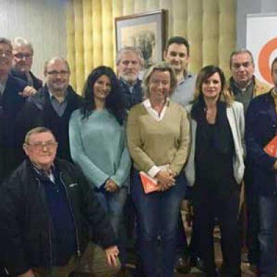 Ciudadanos reúne a nuevos afiliados de Añora, Belalcázar, Hinojosa del Duque y Pozoblanco