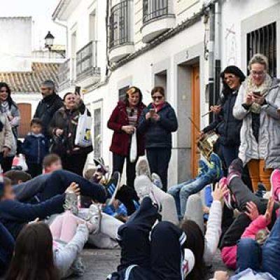 Los niños como protagonistas de las actividades previas a la romería de la Virgen de Luna