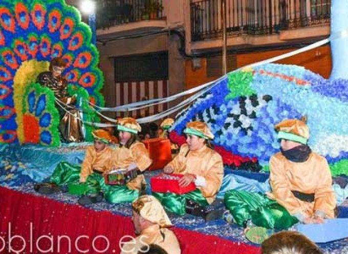 Los Reyes Magos repartirán más de 4.000 kilos de chucherías en la Cabalgata de Pozoblanco