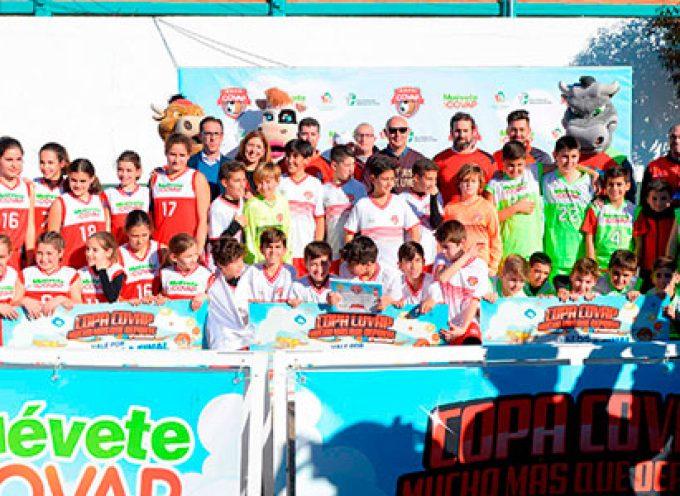 La sexta edición de la Copa COVAP reúne en Pozoblanco a más de 1.000 asistentes concienciados con el juego limpio