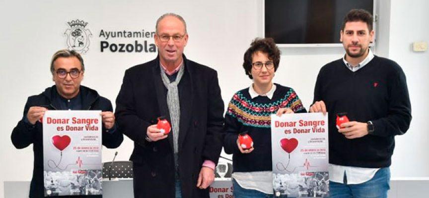 El Teatro El Silo acogerá una donación extraordinaria de sangre propiciada por los braceros y costaleros de Pozoblanco