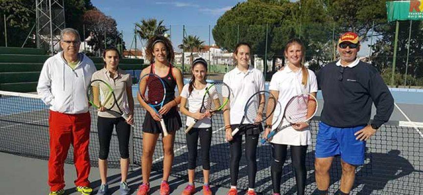 Buen comienzo del Club Tenis Pozoblanco en el Campeonato de Andalucía por Equipos
