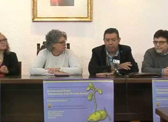 Manuel Marín, ganador en la IX Edición del Certamen de Teatro 'Dramaturgo José Moreno Arenas'