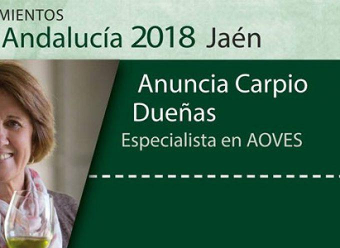 La pozoalbense Anuncia Carpio, distinguida con la Bandera de Andalucía en Jaén