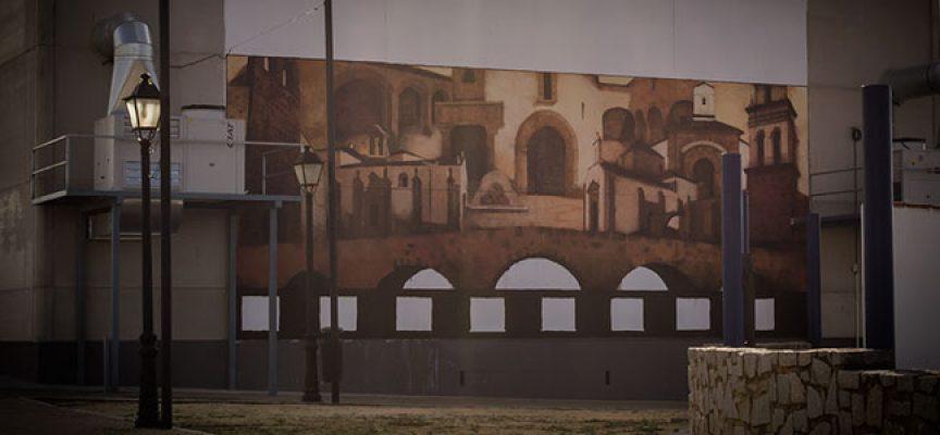 El mural del Centro Cultural 2T, en Dos Torres