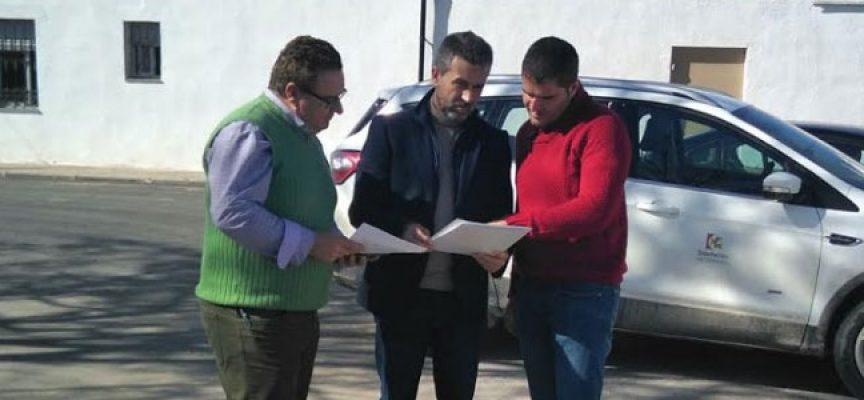 La Diputación de Córdoba invierte cerca de 50.000 euros en la mejora de varios caminos municipales de Conquista