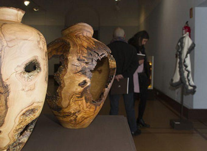 Santiago Valverde López, de Santa Eufemia, Premio Unicaja de Artesanía en la categoría de talla de madera