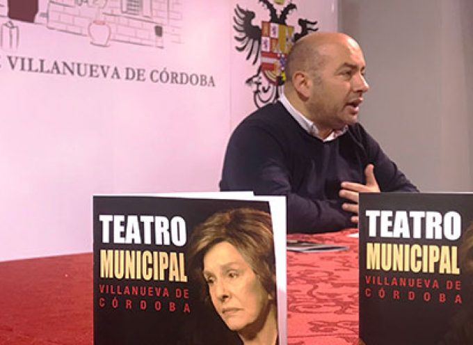 'Cinco Horas con Mario' encabeza la programación semestral del Teatro Municipal de Villanueva de Córdoba