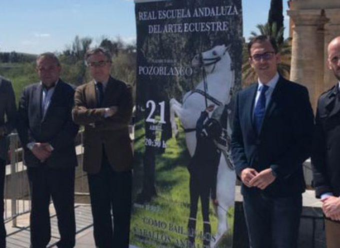 El espectáculo ecuestre de la Real Escuela de Jerez tendrá lugar durante la Feria Agroganadera de Pozoblanco