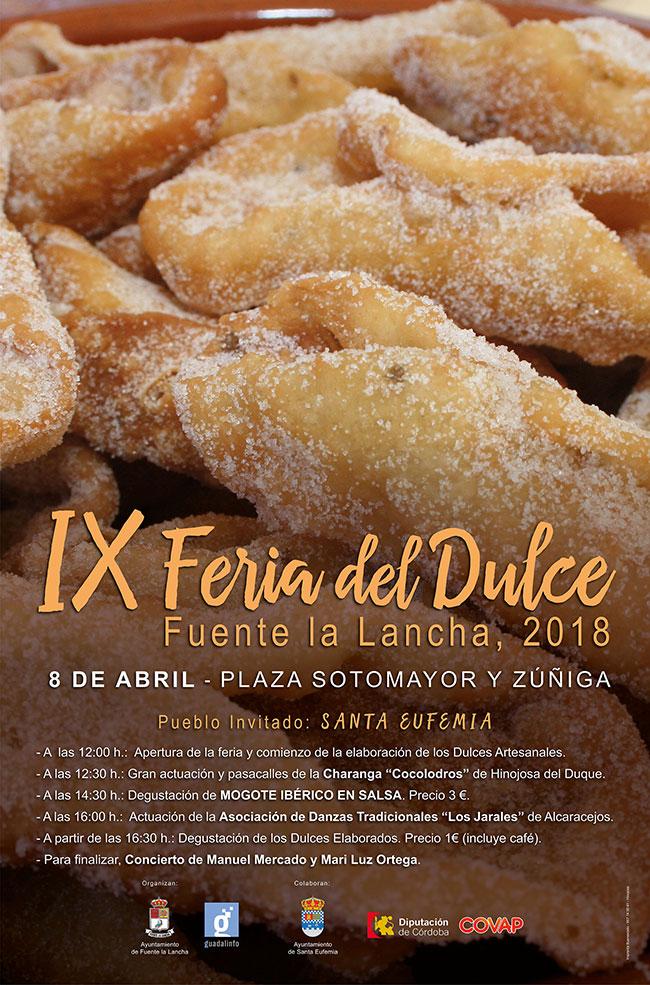 IX Feria del Dulce, en Fuente la Lancha