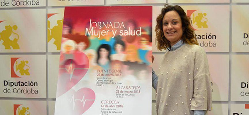 Unas jornadas sobre 'Mujer y salud', organizadas por Diputación, en Alcaracejos