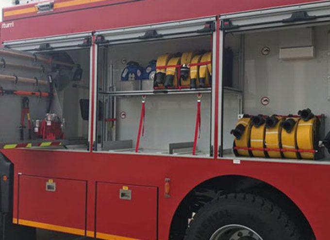 Un nuevo vehículo autobomba rural pesada para el Parque Comarcal de Bomberos de Pozoblanco