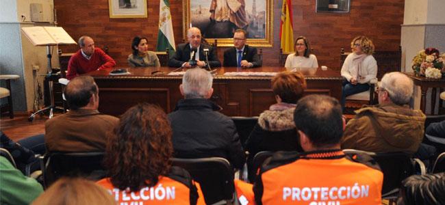 El presidente de la Diputación de Córdoba realiza una visita institucional a El Viso