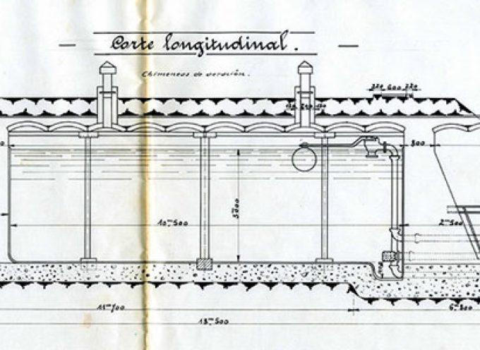 Aparecen vestigios de los depósitos de agua en Pozoblanco de principios del siglo XX