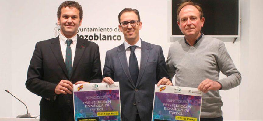 La pre-selección española de fútbol de sordos jugará un amistoso con el CD Pozoblanco