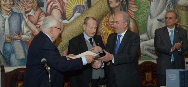 Santiago Muñoz Machado, académico de honor de la Academia Colombiana de la Lengua
