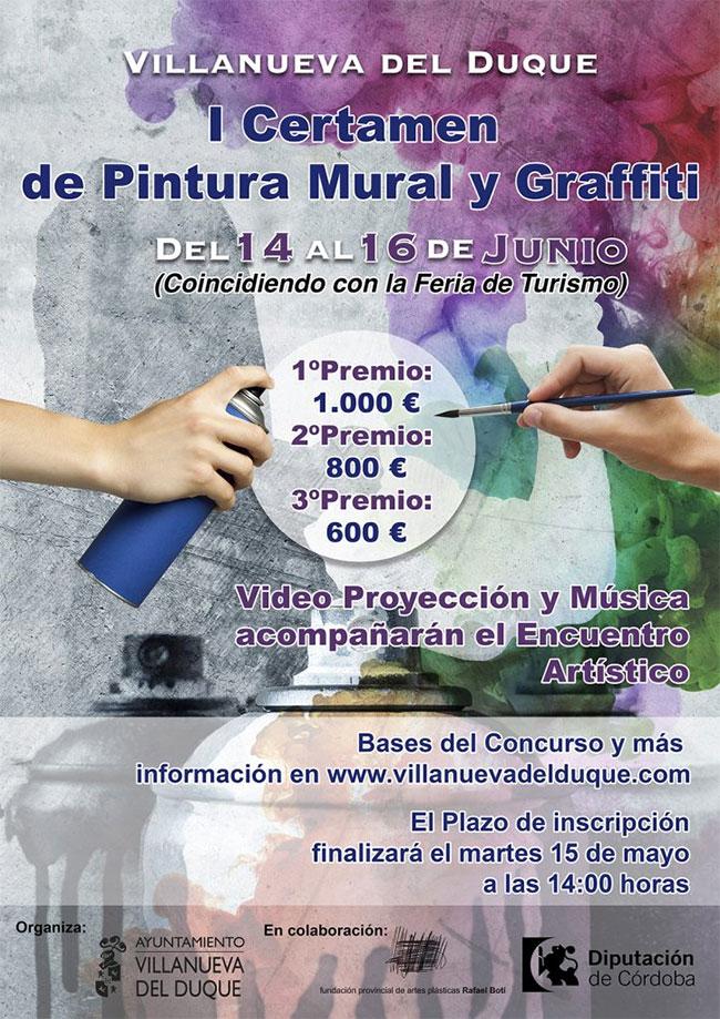 I Certamen de Pintura Mural y Graffiti