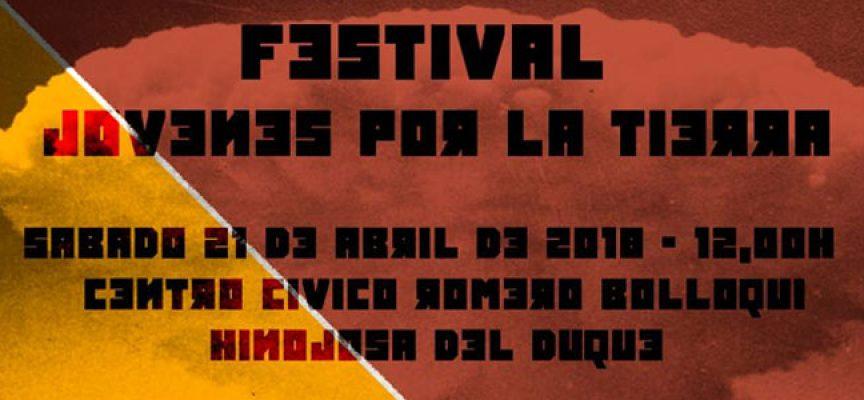Llega el Festival Jóvenes por la Tierra, organizado por la Asociación Cívica Hinojoseña
