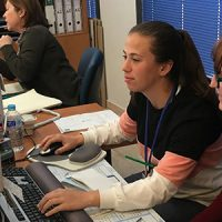 El Área Sanitaria Norte de Córdoba forma a estudiantes en prácticas de Gestión Administrativa en Grado Medio